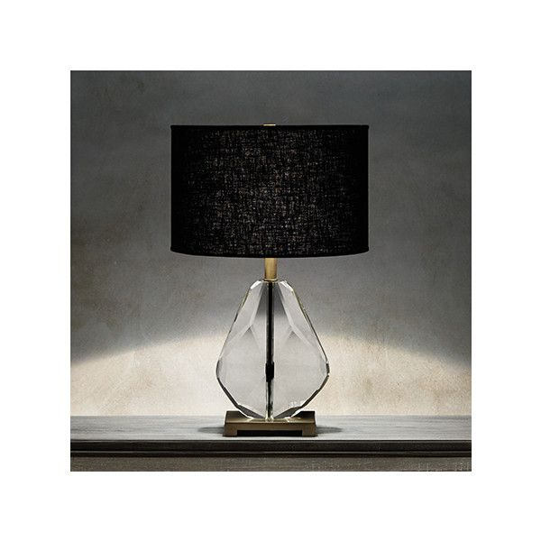 Lola teardrop table lamp arhaus furniture 359 ❤ liked on polyvore featuring home