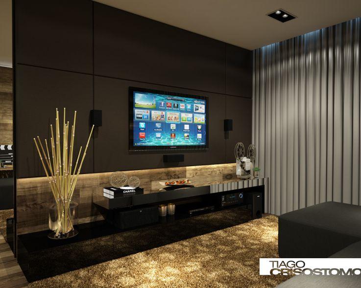 Decor Sala De Tv Com Home ☆☆my Theater Room
