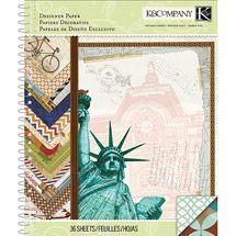 K & Co travel paper