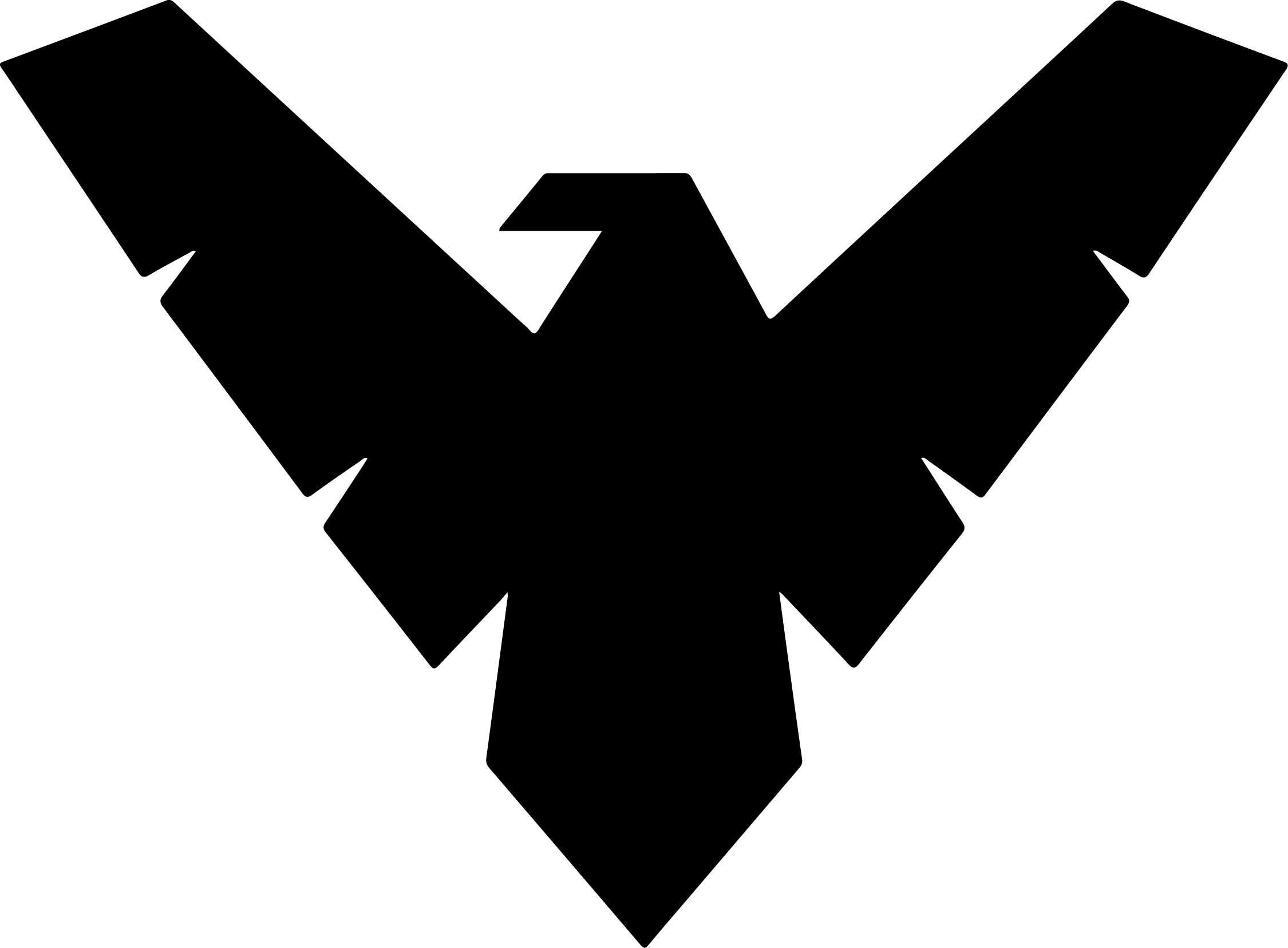 Nightwing Logo Sticker Logo Sticker Vinyl Decal Stickers Nightwing