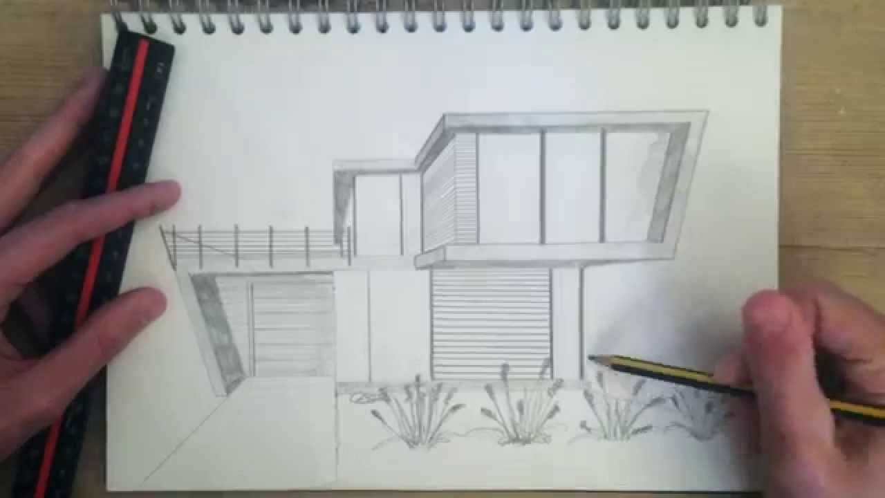 Architectural Drawing Practice 4 YouTube Architecture drawing