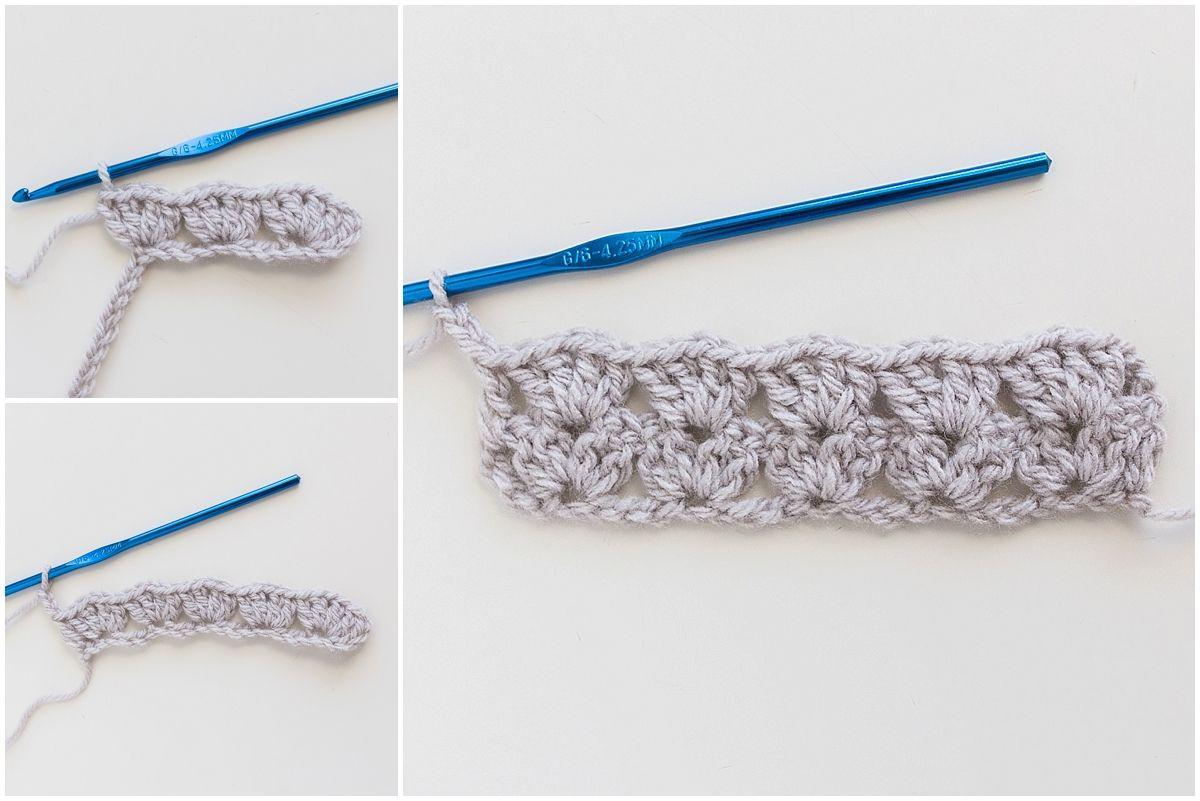 free crochet pattern, crochet stitch pattern, iris stitch pattern ...