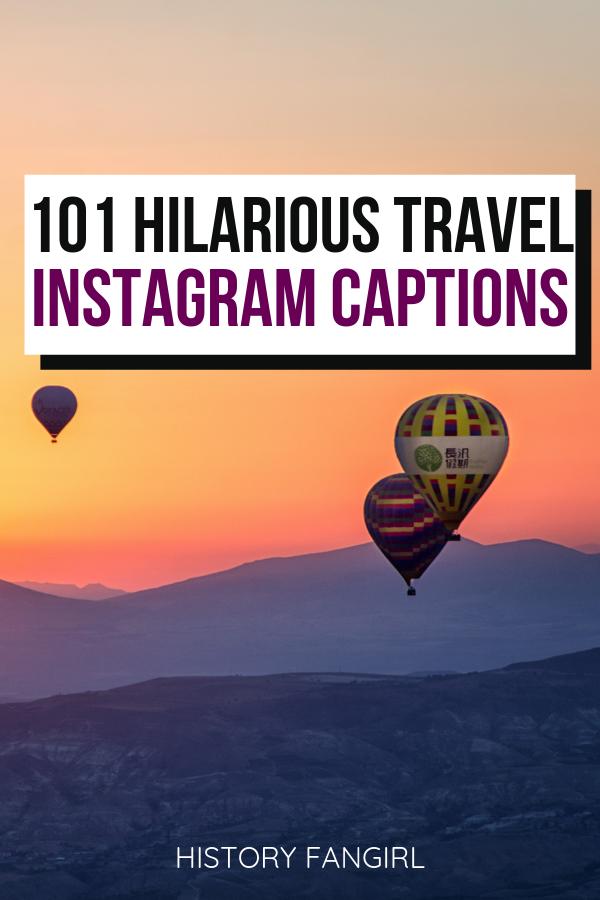 101 Travel Puns & Jokes for Hilarious Travel Instagram ...