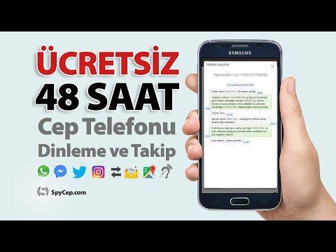 ÜCRETSİZ TELEFON DİNLEME (48 SAAT DENEME) Cep Telefonu ...