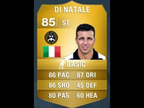 Fifa 14 Di Natale 85 Player Review In Game Stats Ultimate Team Fifa Players Teams