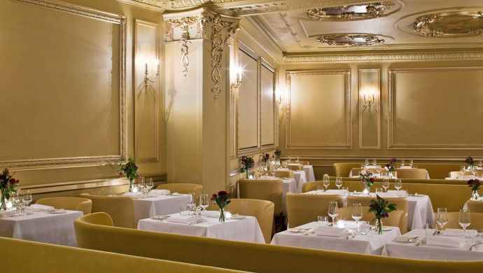 Cafe Royal Hotel: The renovation retained architectural elements of the building's storied past.