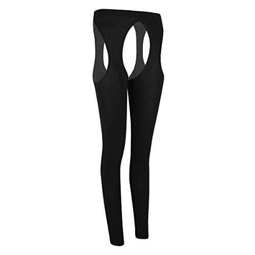 4079a605dd Agoky Women's Cut Out Crotchless Tights Pantyhose Open Toe Stocking Control  Up Legging #stockings