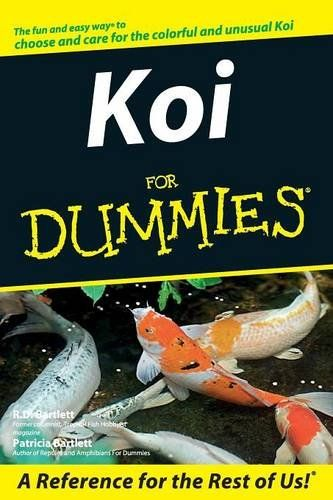 Koi For Dummies By R D Bartlett Shows You How Easy 400 x 300