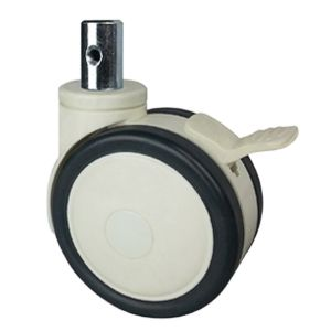 Dual Wheel Casters For Hospital Bed Wheel Material Pu Pa Abs Size 3 X 60mm 4 X 70mm 5 X 80mm Loadi Caster Wheels Furniture Bed Casters Furniture Casters