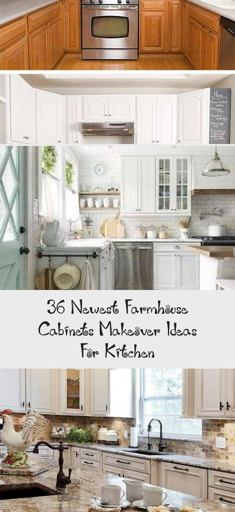 Cool 36 Newest Farmhouse Cabinets Makeover Ideas For Kitchen Kitchenredotips Kitchenredofarmhouse Kitchen Cabinet Styles Kitchen Style Country Style Kitchen