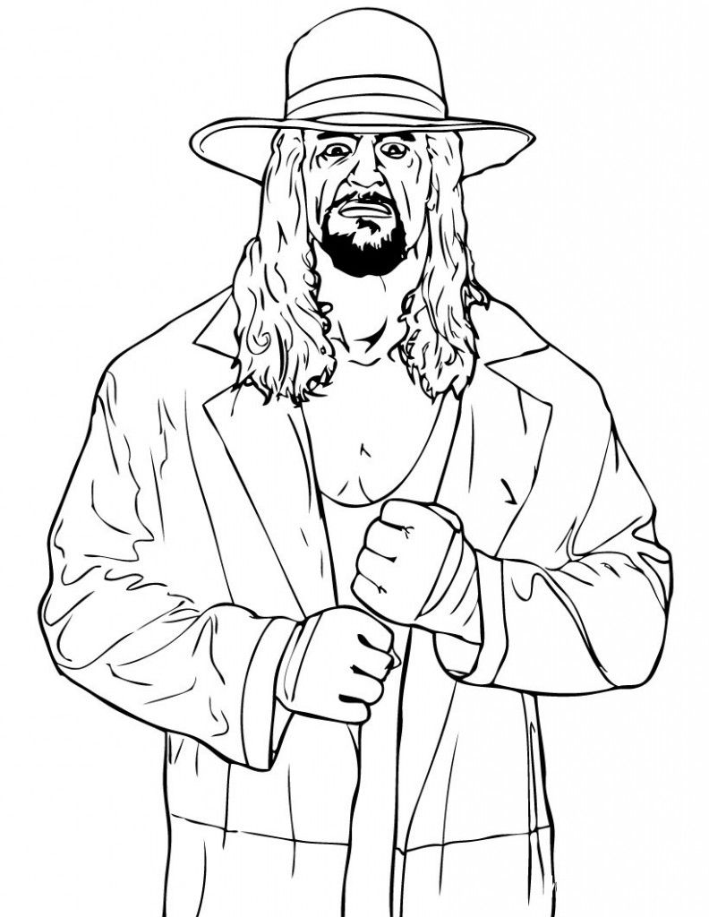 Free Printable WWE Coloring Pages For Kids | WWE Party Ideas ...