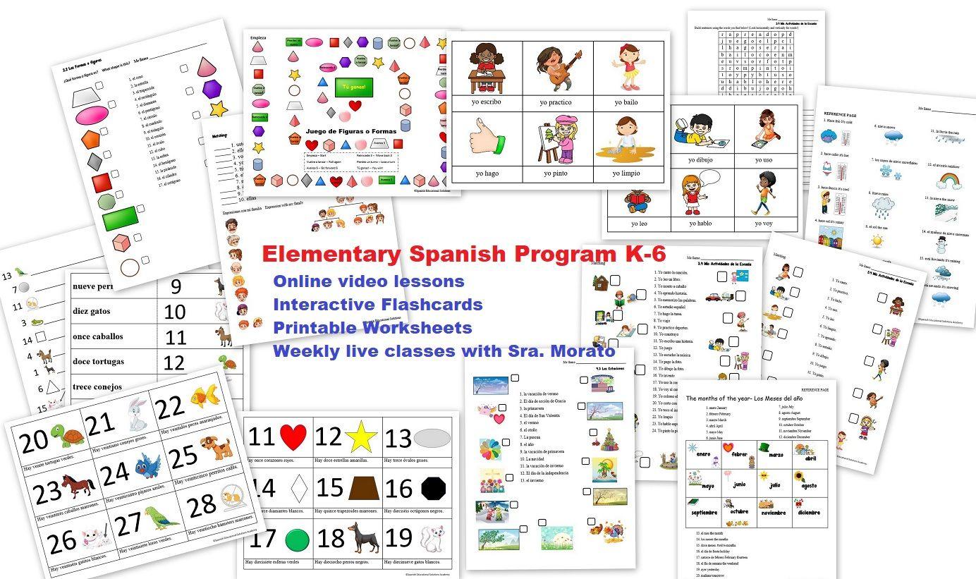 Elementary Spanish Program K 6