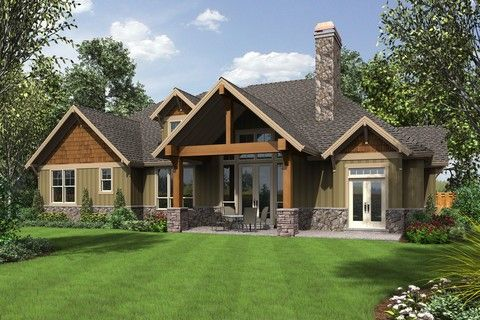 Plan b22157aa the ashby is a 2768 sqft craftsman lodge for Ashby house plan