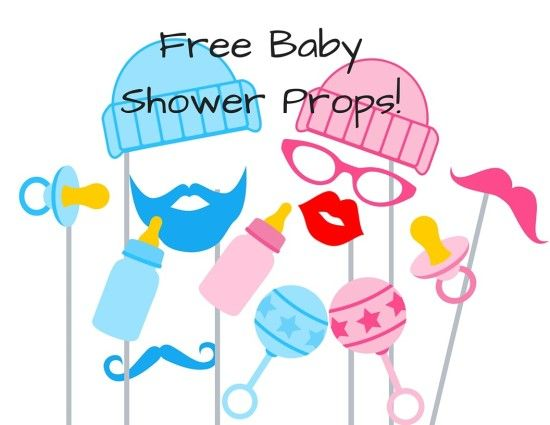 photo regarding Baby Shower Photo Booth Props Printable identified as totally free-little one-shower-photograph-booth-props Boy or girl Shower Decoration