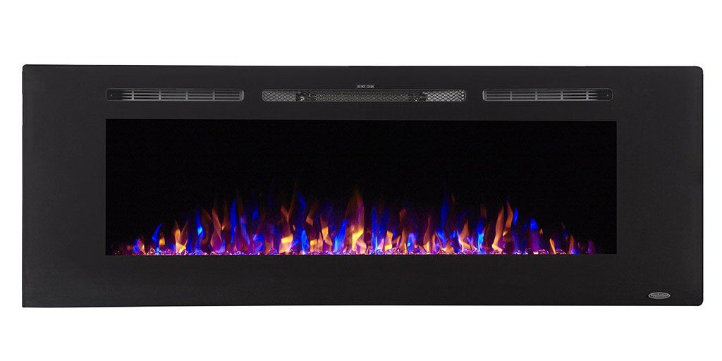Touchstone 80011 Sideline Electric Fireplace 60 Inch Wide In