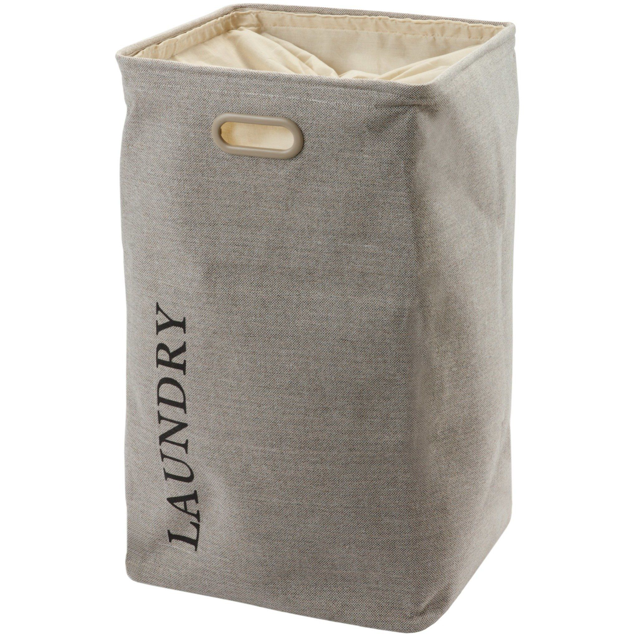 Evora Hamper Laundry Basket With Carry Handles And Removable