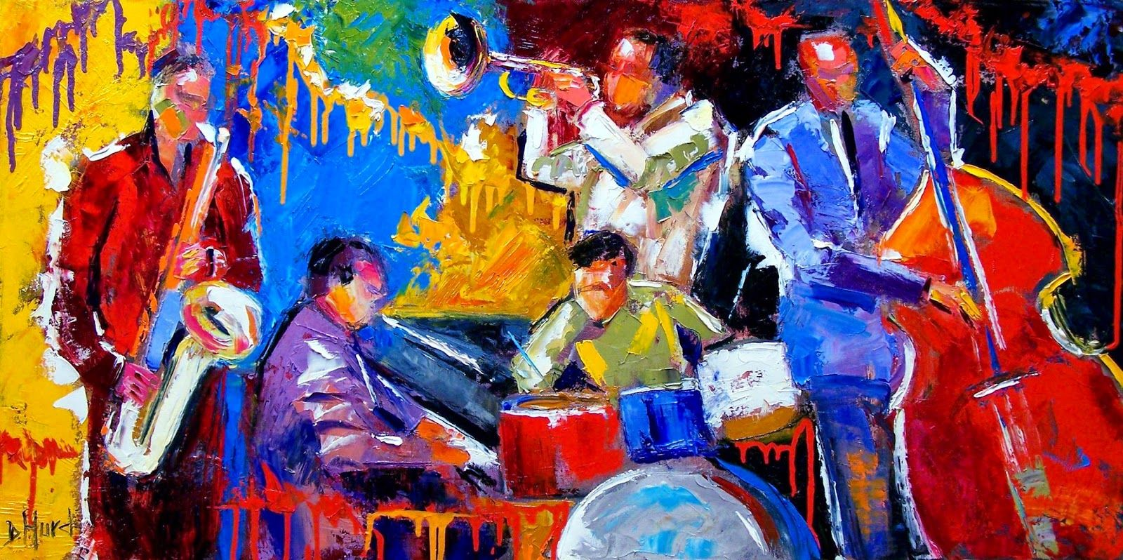 Original Abstract Jazz...