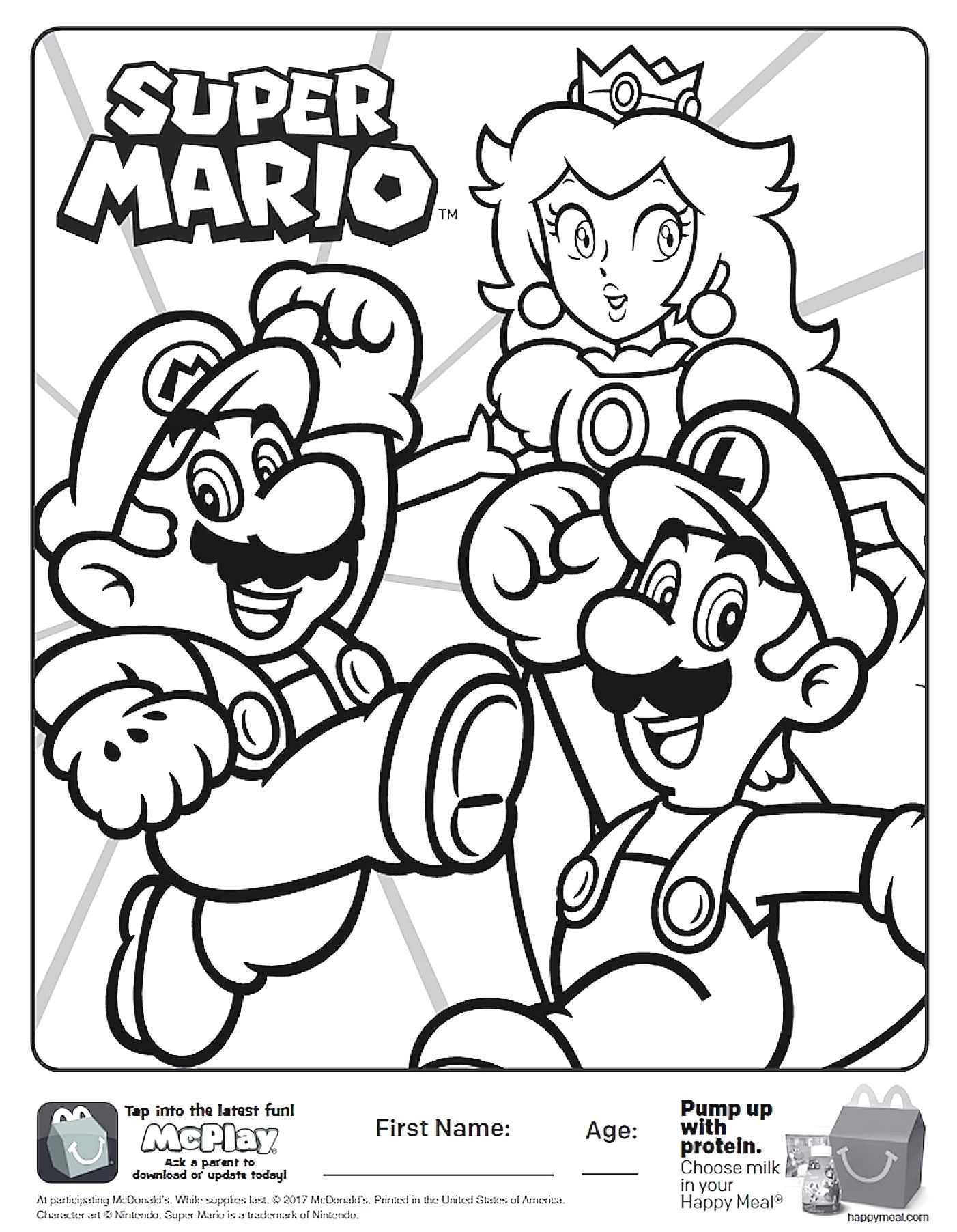 Super Mario Bros Coloring Pages Super Mario Bros Coloring Pages 24