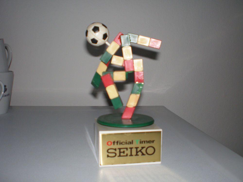 Seiko Fussball Wm 1990 Maskottchen Italien Solar Dreht Sich