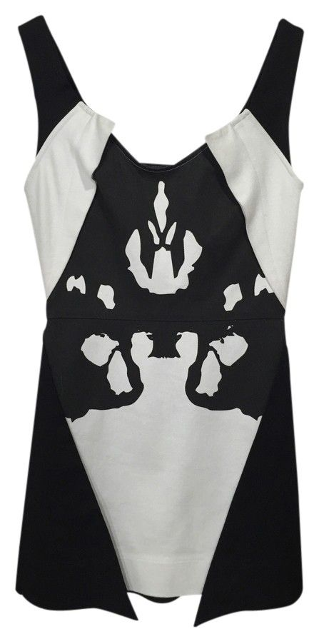 Alice McCALL Dress Black And White Rorschach. Free shipping and guaranteed authenticity on Alice McCALL Dress Black And White Rorschach at Tradesy. Alice McCALL Black and White Rorschach Dress  TE...