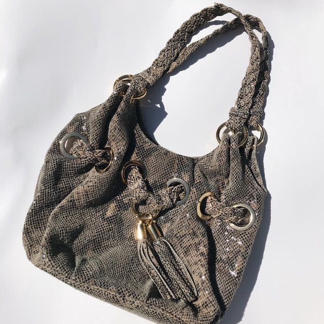f04f97fb2014 Authentic michael kors snakeskin shoulder bag. Features gold hardware.  Great condition. Vintage retro crossbody clutch purse bags handbags michael  kors ...
