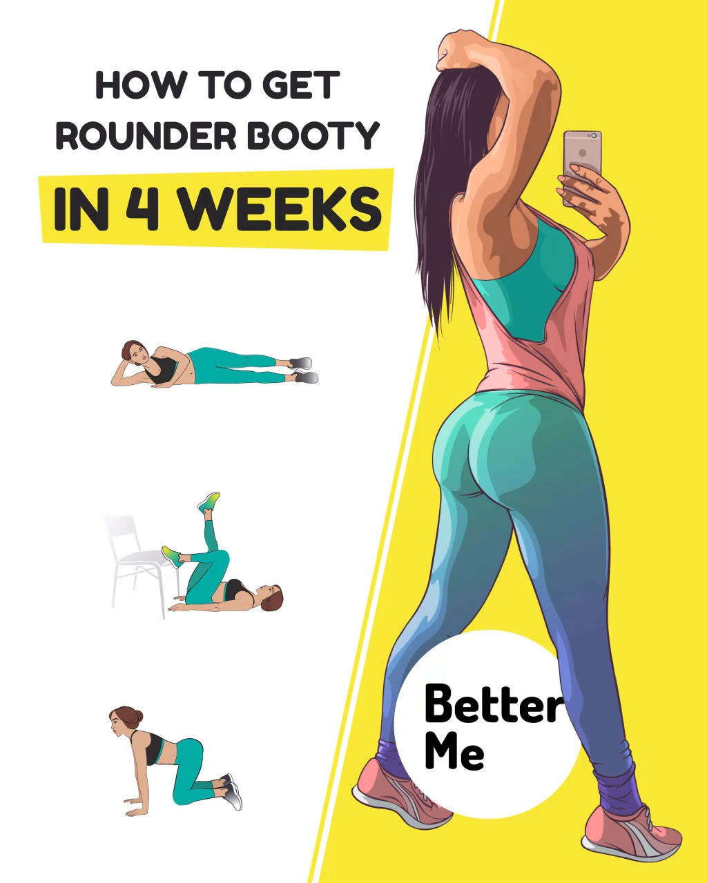 How to Get Rounder Booty  #planningyourday