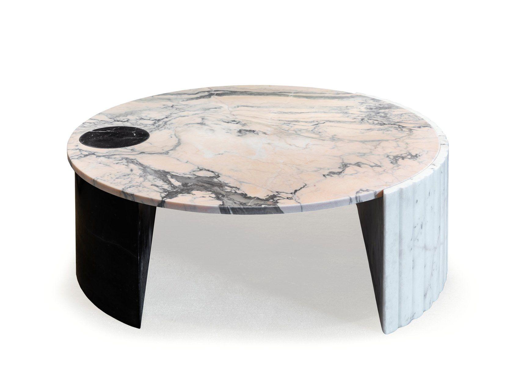 Helene Stolik Kollekciya Helene By Mambo Unlimited Ideas Marble Round Coffee Table Center Table Low Coffee Table [ 1261 x 1680 Pixel ]