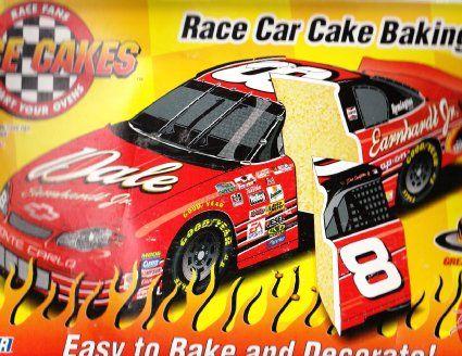 Dale Earnhardt Jr Race Car Cake Pan Cakes and Cupcakes