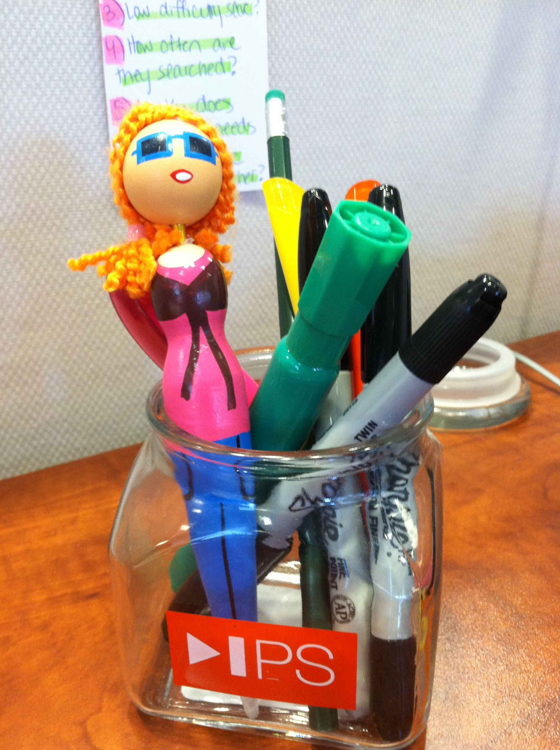""" Haha can you tell this is my desk at work... #gingerstatus ""   #adayinthelife of an IPS employee"