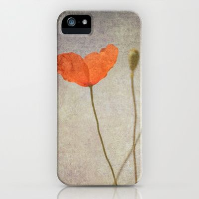 Little poppy iPhone & iPod Case by Guido Montañés - $35.00