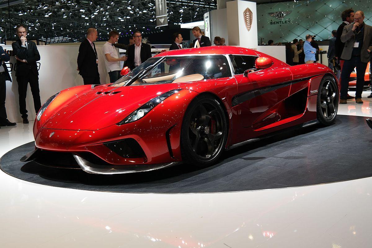 Koenigsegg Regera - Wikipedia | Autos (Including Motorcycles ...