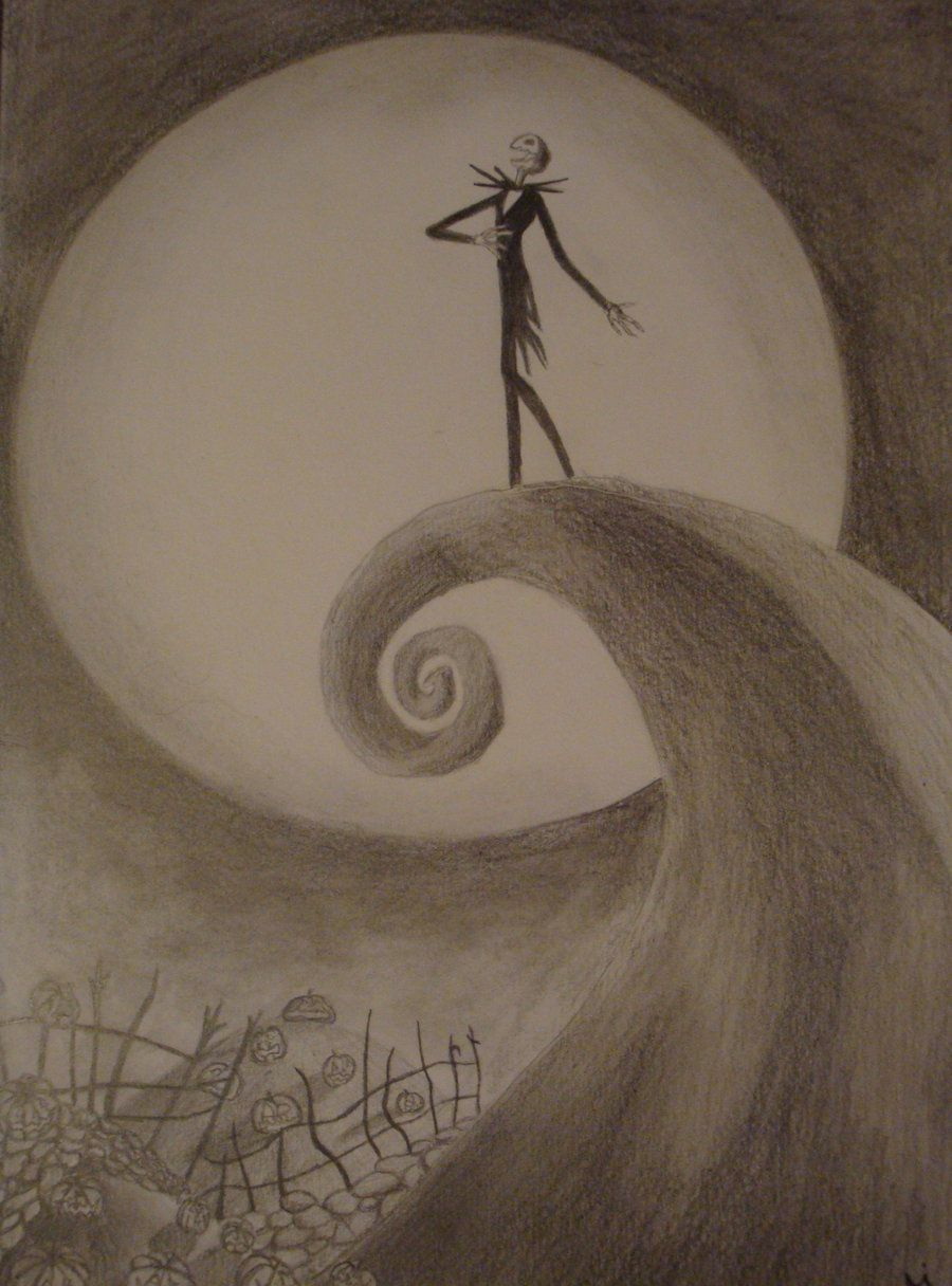 The Nightmare Before Christmas by Alexandra [©2010] | Brush Strokes ...
