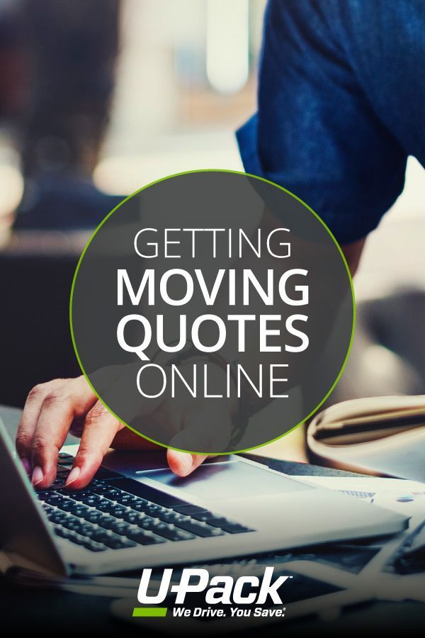 Upack Quote Classy Ready To Move Get A Moving Quote Online Learn Everything You Need .