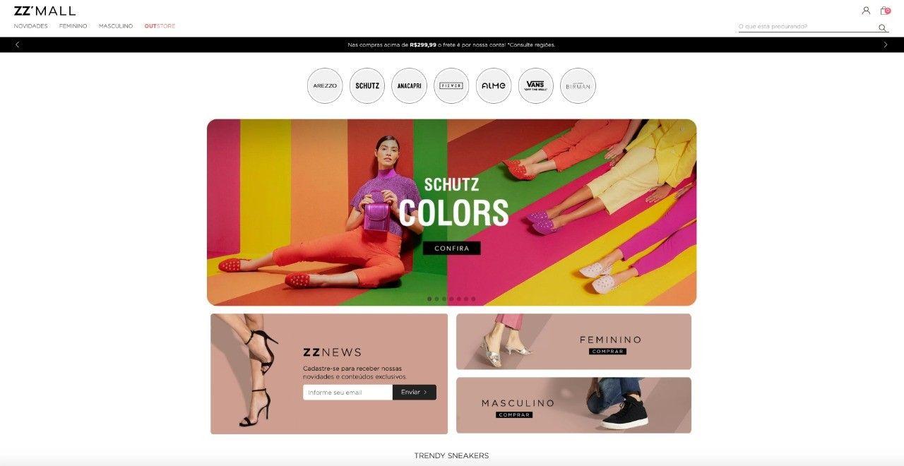 ZZ Mall é o nova plataforma digital que reúne todas as marcas do grupo Arezzo&Co - Revista