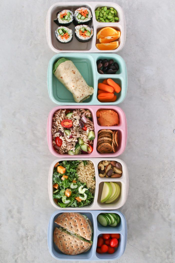 5 Easy Bento Box Lunches #bentoboxlunch