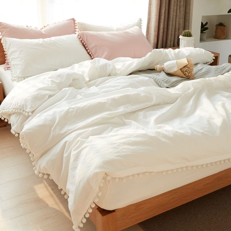 Cheap Bedding Set Buy Quality Girls Bedding Set Directly From China Duvet Cover Suppliers White Bedd White Bed Set White Comforter Bedroom Bed Comforter Sets