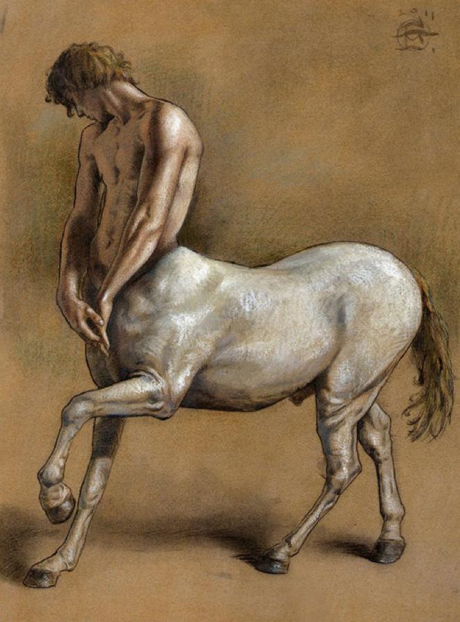Erotic winged centaur pic 166