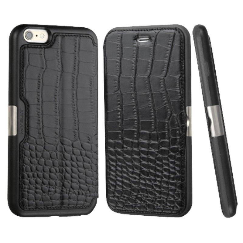 Insten Crocodile Leather Case Cover With Wallet Flap Pouch For