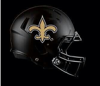 Black Saints Helmet New Orleans Saints Saints Football Nfl Saints