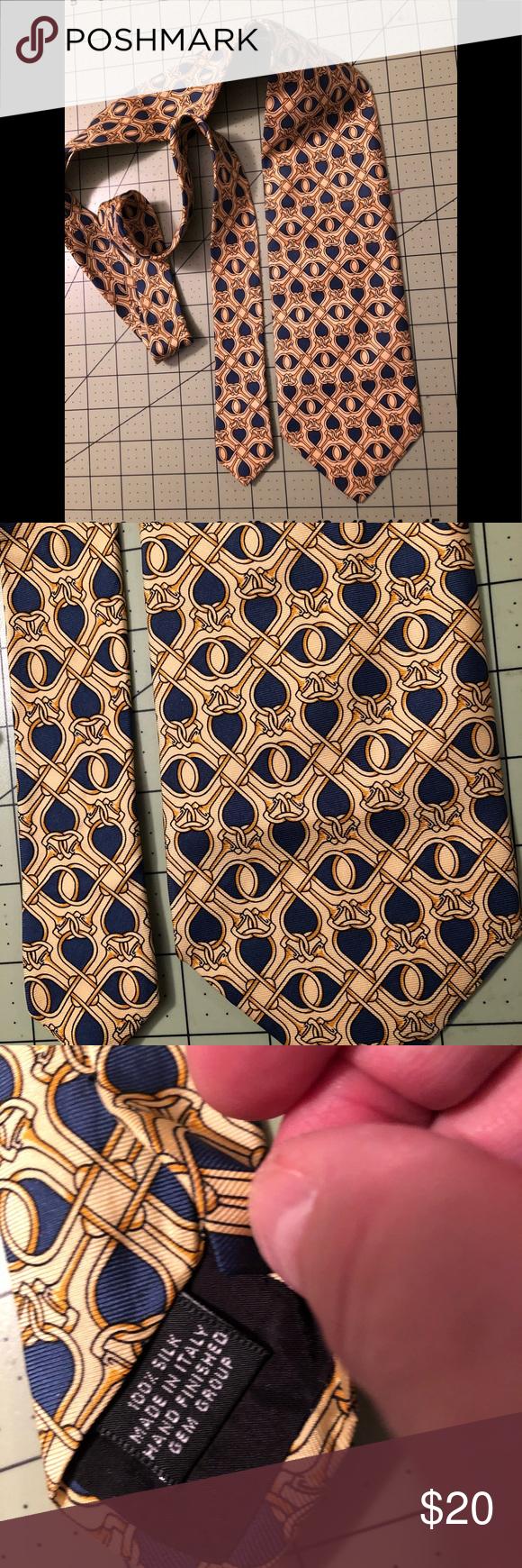 039e7a867b7e Paolo Gucci designer silk yellow tie In great condition a yellow Paolo Gucci  tie Gucci Accessories Ties