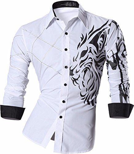 jeansian Men's Slim Lion Print Long Sleeves Dress Shirts ... https://www.amazon.com/dp/B01J0VTTCE/ref=cm_sw_r_pi_dp_IBALxb77QSBPT