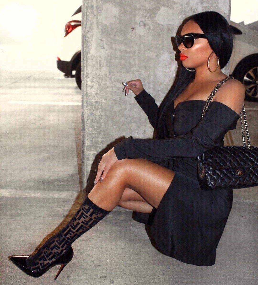 Fendi socks | Outfits, Stylish outfits