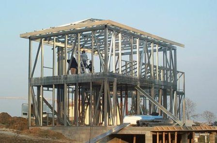 constructeur maison ossature metallique en france - Charpente Metallique Maison Individuelle