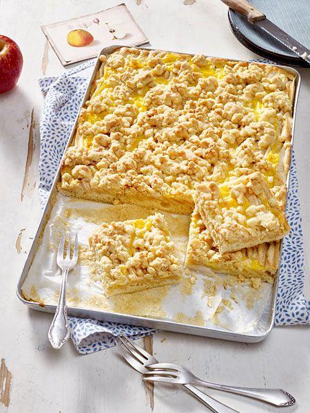 Apfelkuchen Mit Pudding Rezept Food Drinks Pinterest Kuchen