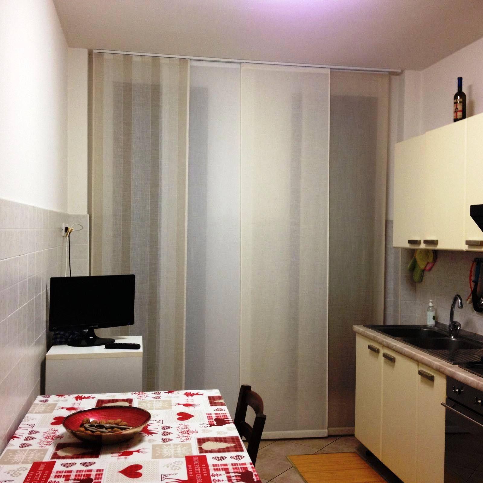 tende per cucina a pannelli bianchi | Tende da Interni, Serramenti ...