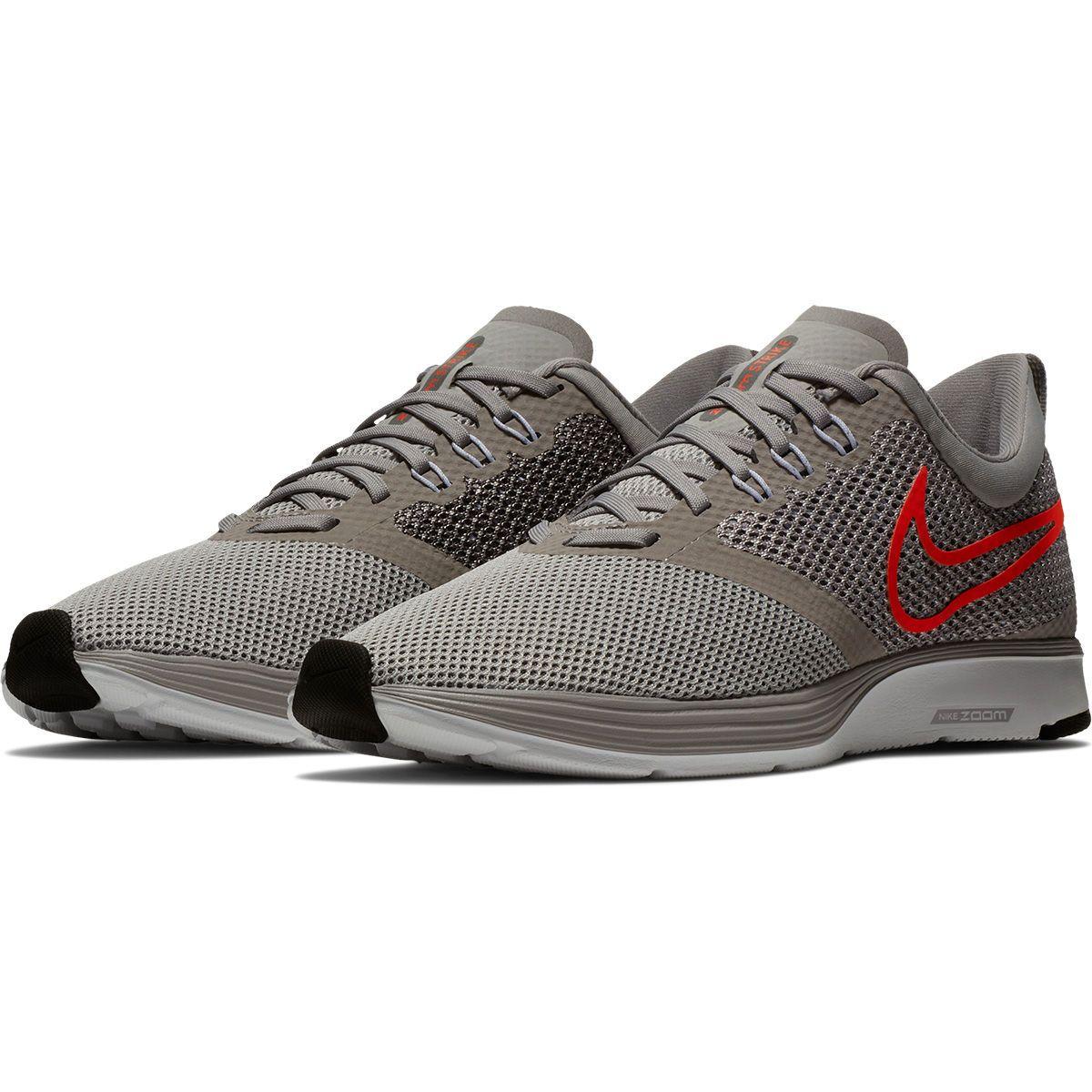 d3648f31a1 Tênis Nike Zoom Strike Masculino - Cinza e Vermelho