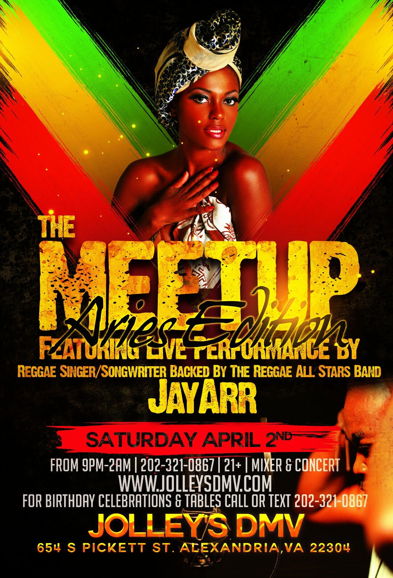 The Meetup A Monthly African Caribbean Social Mixer In Alexandria Virginia Beginning Saturday April 2nd Jolly S Dmv 654 S Meetup Reggae Artists Songwriting