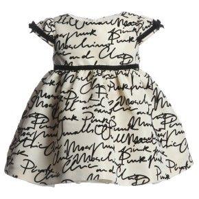 فساتين اطفال للزواجات Fashion Girl Design Chic Baby Style Girl Outfits