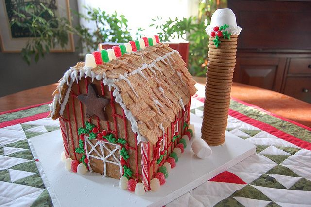 Gingerbread Barn In 2019 Christmas Gingerbread House