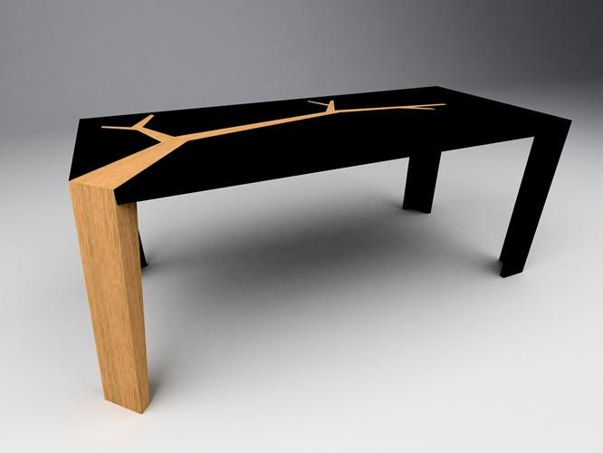 Ordinary Table En Bois Noir #3: Everything This Guy Makes Is Stunning! Olivier Dolle, Artisan Designer